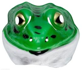 Masker plastic kikker - kind