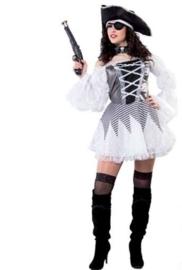 Pirate White Deluxe jurkje