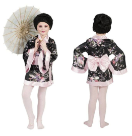 Japanse kimono meisjes