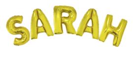 Ballonset 96cm met lint Sarah Goud
