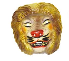 Masker plastic leeuw
