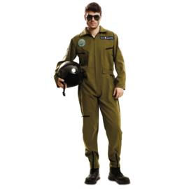 Top gun piloot kostuum