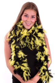 Boa zwart/geel 180 cm. 75 gr.