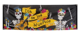 Day of the dead bannier 220x74cm