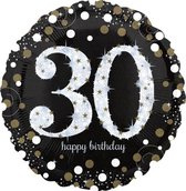 Folieballon birthday sparkling 30 (73cm)