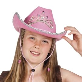 Cowgirl hoed glimmer