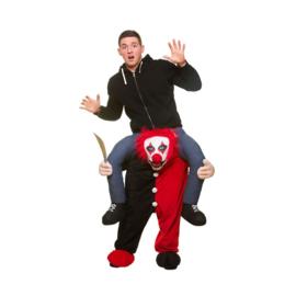Carre me scary clown kostuum