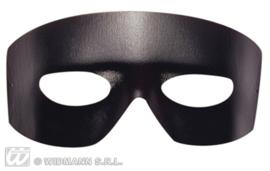 Zorro masker lederlook