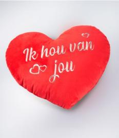 Hart kussen - Ik hou van jou