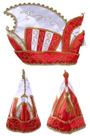 Prinsenmuts rood wit