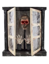 Spookachtige raam