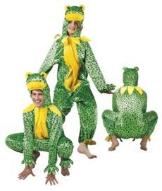 Kikker kostuum plushe