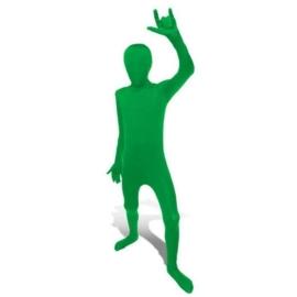 Kinder morphsuit groen