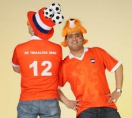 Oranje voetbalshirt OP=OP