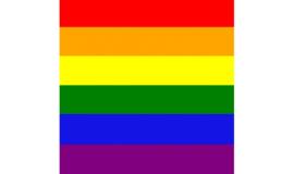 Bandana Rainbow 54x54 cm