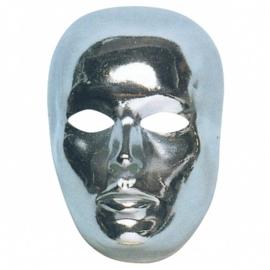 Silver face masker