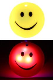 Smiley pin met licht