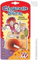 Sigaret en schroeivlek
