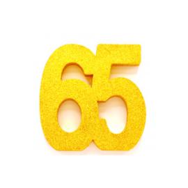Tafel decoratie goud 65