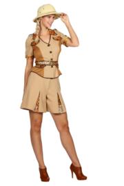 Safari dame jurk