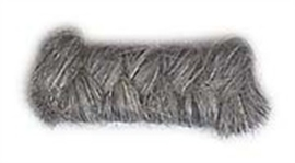 Wolcrepe middengrijs10cm