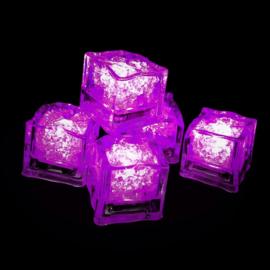 LED ijsblokjes roze
