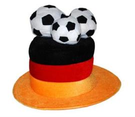 Duitsland voetbalhoed velvet