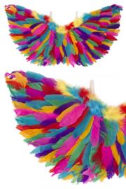 Veren Vleugels regenboog chique