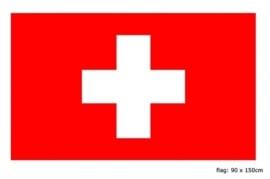 Vlag Zwitserland 90x150