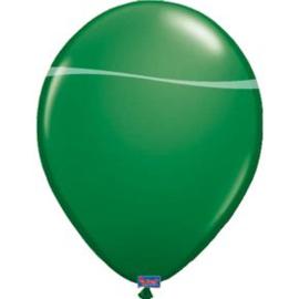 Kwaliteitsballon metallic groen 10 stuks