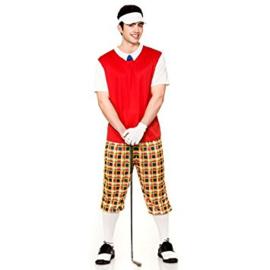 Golfer kostuum pro