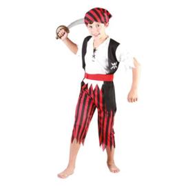 Piraat boys kostuum