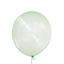 Bubbel ballonnen groen 100 st.