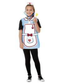 Verpleegster set kind