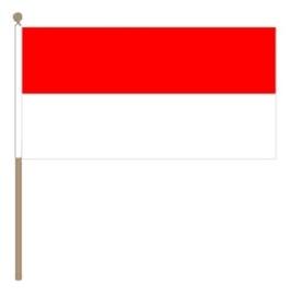 Zwaai vlaggetje Indonesie