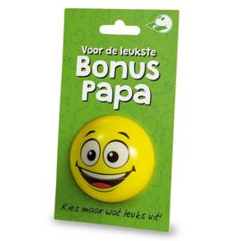 Cadeaukaarthouder - Bonus Papa |
