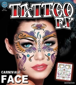 Face Tattoo Carnivale