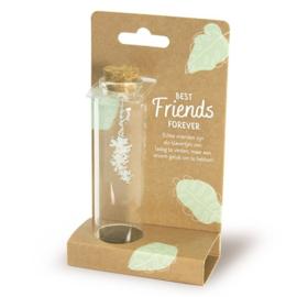 Sieraad in een flesje - BFF   cadeautje