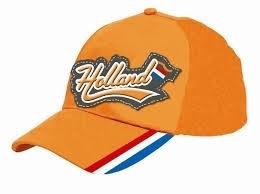 Baseball cap 3D oranje