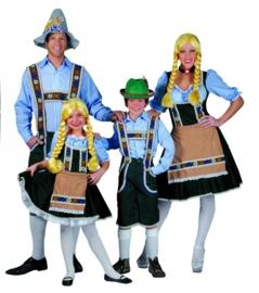 Tiroler Heidi jurkje