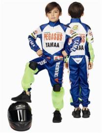 Kostuum motor racer