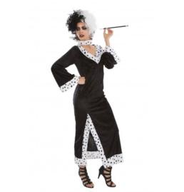 Cruella da Ville jurk