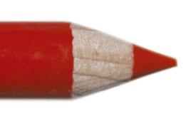 Lippen potlood 11cm Rood