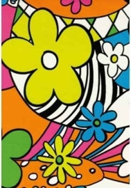 Sjaal / Hoofdband flower power