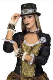 Steampunk hoed deco sleutel