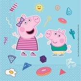 Pepa Pig Star Shine | Composteerbaar servetten