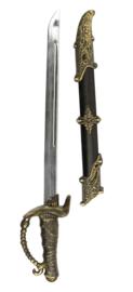 Piraten zwaard met schede