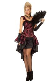 Burlesque jurk gamble