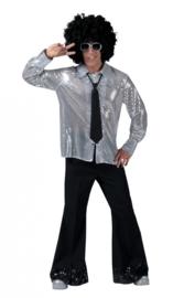 Glitter shirt Zilver / silver