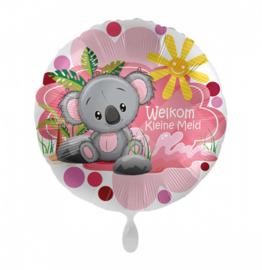 Folieballon Welkom Kleine Meid